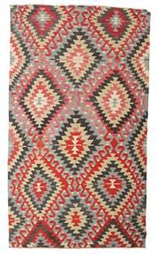 Kilim Semi-Antichi Turchi Tappeto 170X298 Orientale Tessuto A Mano Grigio Chiaro/Ruggine/Rosso (Lana, Turchia)