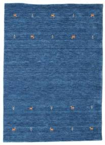Gabbeh Loom Two Lines - Blu Tappeto 140X200 Moderno Blu Scuro/Blu (Lana, India)
