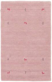 Gabbeh Loom Two Lines - Rosa Tappeto 100X160 Moderno Rosa Chiaro (Lana, India)