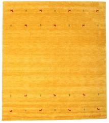 Gabbeh Loom Two Lines - Giallo Tappeto 240X290 Moderno Giallo/Arancione (Lana, India)