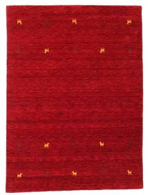 Gabbeh Loom Two Lines - Rosso Tappeto 140X200 Moderno Rosso/Rosso Scuro (Lana, India)