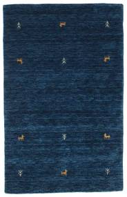 Gabbeh Loom Two Lines - Blu Scuro Tappeto 100X160 Moderno Blu Scuro (Lana, India)
