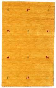 Gabbeh Loom Two Lines - Giallo Tappeto 100X160 Moderno Arancione (Lana, India)