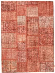 Patchwork Tappeto 170X231 Moderno Fatto A Mano Rosa Chiaro/Rosso (Lana, Turchia)