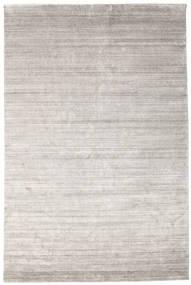 Bambù Di Seta Loom - Warm Grigio Tappeto 200X300 Moderno Grigio Chiaro ( India)