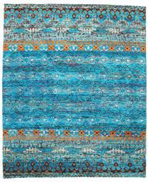 Quito - Turchese Tappeto 240X290 Moderno Fatto A Mano Blu Turchese/Blu (Seta, India)