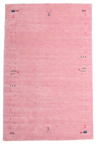 Gabbeh Loom Frame - Rosa Tappeto 190X290 Moderno Rosa Chiaro/Rosa (Lana, India)