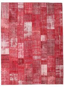 Patchwork Tappeto 303X402 Moderno Fatto A Mano Rosso/Ruggine/Rosso/Rosa Grandi (Lana, Turchia)