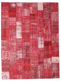 Patchwork Tappeto 301X400 Moderno Fatto A Mano Rosso/Ruggine/Rosso Grandi (Lana, Turchia)