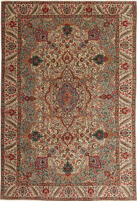 Tabriz Patina Tappeto 217X323 Orientale Fatto A Mano Marrone Scuro/Marrone Chiaro (Lana, Persia/Iran)