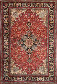Tabriz Patina Tappeto 205X305 Orientale Fatto A Mano Rosso Scuro/Marrone Scuro (Lana, Persia/Iran)