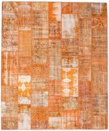 Patchwork Tappeto 253X304 Moderno Fatto A Mano Marrone Chiaro/Arancione Grandi (Lana, Turchia)