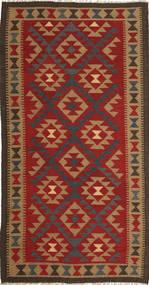 Kilim Maimane Tappeto 103X196 Orientale Tessuto A Mano Ruggine/Rosso/Marrone Chiaro (Lana, Afghanistan)
