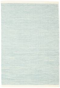Seaby - Blu Tappeto 140X200 Moderno Tessuto A Mano Blu Turchese/Bianco/Creme (Lana, India)
