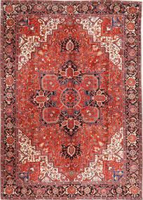 Heriz Tappeto 293X406 Orientale Fatto A Mano Rosso Scuro/Ruggine/Rosso Grandi (Lana, Persia/Iran)