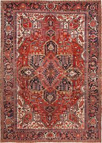 Heriz Tappeto 288X403 Orientale Fatto A Mano Rosso Scuro/Ruggine/Rosso Grandi (Lana, Persia/Iran)