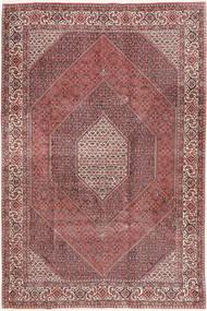 Bidjar Tappeto 200X298 Orientale Fatto A Mano Marrone/Rosso Scuro (Lana, Persia/Iran)