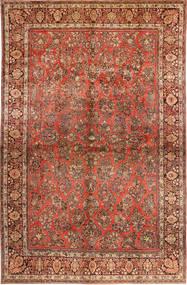 Saruk American Tappeto 310X485 Orientale Fatto A Mano Marrone Scuro/Ruggine/Rosso Grandi (Lana, Persia/Iran)