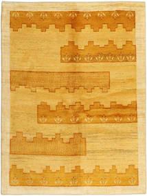 Gabbeh Persia Tappeto 149X198 Moderno Fatto A Mano Marrone Chiaro/Arancione (Lana, Persia/Iran)