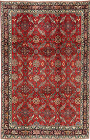 Koliai Tappeto 208X321 Orientale Fatto A Mano Rosso Scuro/Marrone Scuro (Lana, Persia/Iran)