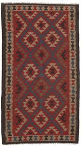 Kilim Maimane Tappeto 107X197 Orientale Tessuto A Mano Rosso Scuro/Marrone Scuro (Lana, Afghanistan)