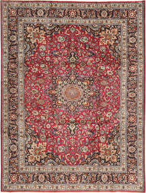 Mashad Tappeto 250X338 Orientale Fatto A Mano Rosso Scuro/Marrone Scuro Grandi (Lana, Persia/Iran)