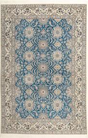Nain 6La Habibian Tappeto 210X323 Orientale Fatto A Mano Grigio Chiaro/Beige Scuro (Lana/Seta, Persia/Iran)