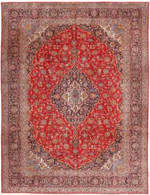 Keshan Tappeto 315X420 Orientale Fatto A Mano Rosso Scuro/Ruggine/Rosso Grandi (Lana, Persia/Iran)