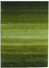 Gabbeh Rainbow - Verde Tappeto 210X290 Moderno Verde Scuro/Verde Oliva (Lana, India)