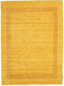 Handloom Gabba - D'oro Tappeto 160X230 Moderno Giallo/Arancione (Lana, India)