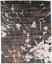Nepal Original Tappeto 240X301 Moderno Fatto A Mano Grigio Scuro/Marrone Scuro (Lana/Seta Di Bambù, Nepal/Tibet)