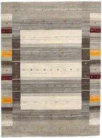 Loribaf Loom Designer - Warm Grigio Tappeto 210X290 Moderno Grigio Chiaro/Beige (Lana, India)