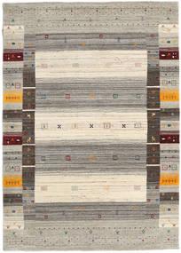 Loribaf Loom Designer - Warm Grigio Tappeto 140X200 Moderno Grigio Chiaro/Beige (Lana, India)