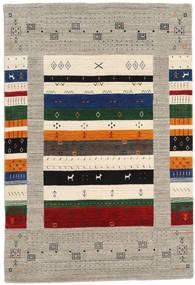 Loribaf Loom Designer - Grigio/Multi Tappeto 120X180 Moderno Grigio Chiaro/Beige (Lana, India)