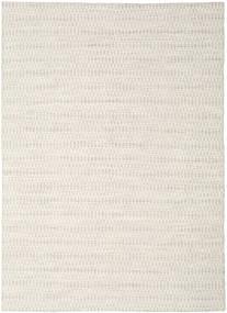 Kilim Long Stitch - Beige Tappeto 210X290 Moderno Tessuto A Mano Grigio Chiaro/Beige (Lana, India)