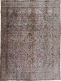 Colored Vintage Tappeto 294X384 Moderno Fatto A Mano Grigio Scuro/Marrone Scuro Grandi (Lana, Pakistan)