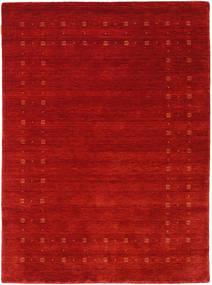 Loribaf Loom Delta - Rosso Tappeto 140X200 Moderno Ruggine/Rosso/Rosso Scuro (Lana, India)