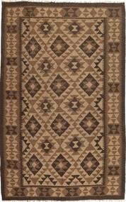 Kilim Tappeto 157X248 Orientale Tessuto A Mano Marrone/Marrone Scuro (Lana, Persia/Iran)