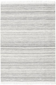 Diamond Lana - Grigio Tappeto 160X230 Moderno Tessuto A Mano Grigio Chiaro/Bianco/Creme (Lana, India)