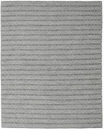 Kilim Long Stitch - Nero/Grigio Tappeto 240X300 Moderno Tessuto A Mano Grigio Chiaro/Blu Turchese (Lana, India)