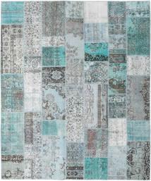 Patchwork Tappeto 253X303 Moderno Fatto A Mano Azzurro/Grigio Chiaro Grandi (Lana, Turchia)