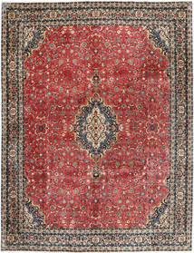 Bidjar Con Seta Tappeto 297X385 Orientale Fatto A Mano Rosso Scuro/Grigio Scuro Grandi (Lana/Seta, Persia/Iran)