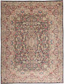 Kirman Tappeto 290X387 Orientale Fatto A Mano Grigio Chiaro/Marrone Scuro Grandi (Lana, Persia/Iran)