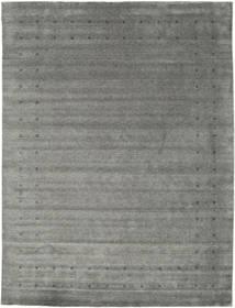 Loribaf Loom Delta - Grigio Tappeto 290X390 Moderno Grigio Scuro/Grigio Chiaro Grandi (Lana, India)