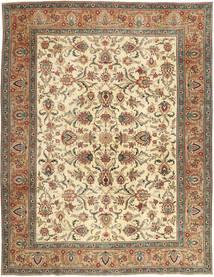 Tabriz Patina Tappeto 302X390 Orientale Fatto A Mano Marrone/Beige Scuro Grandi (Lana, Persia/Iran)
