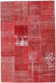 Patchwork Tappeto 202X303 Moderno Fatto A Mano Ruggine/Rosso/Rosso Scuro (Lana, Turchia)
