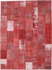 Patchwork Tappeto 303X403 Moderno Fatto A Mano Ruggine/Rosso/Rosso Scuro Grandi (Lana, Turchia)