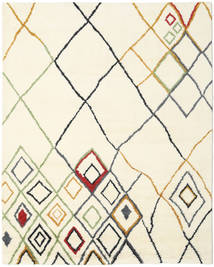 Berber Indo - Off-Bianco/Multi Tappeto 240X300 Moderno Fatto A Mano Beige/Bianco/Creme (Lana, India)