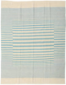Kilim Moderni Tappeto 181X230 Moderno Fatto A Mano Beige/Blu Turchese (Lana, India)
