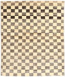 Gabbeh Persia Tappeto 161X200 Moderno Fatto A Mano Beige/Grigio Chiaro (Lana, Persia/Iran)